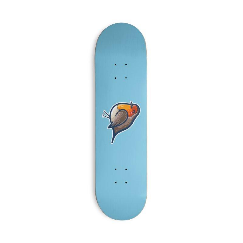 Robin Kawaii Cute Bird Masks + Accessories Skateboard by Flaming Imp's Artist Shop
