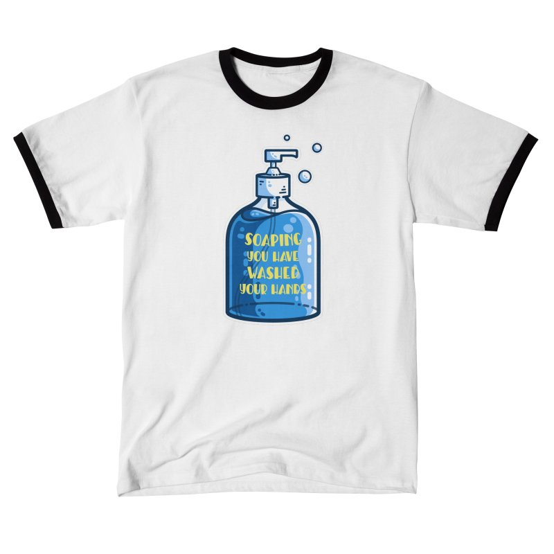 Soaping You Have Washed Your Hands Pun Fitted T-Shirt by Flaming Imp's Artist Shop