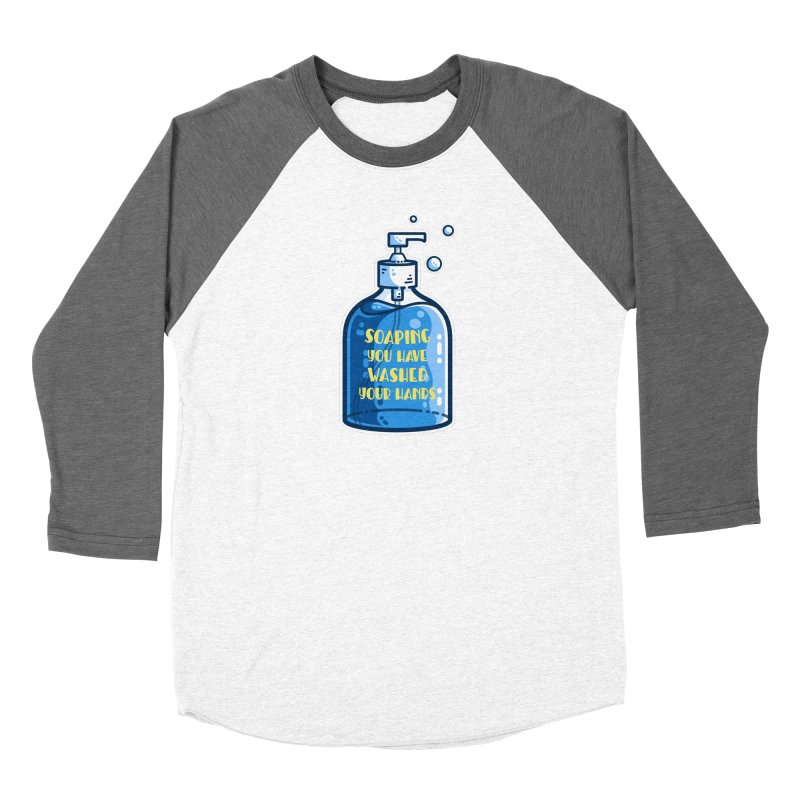 Soaping You Have Washed Your Hands Pun Fitted Longsleeve T-Shirt by Flaming Imp's Artist Shop