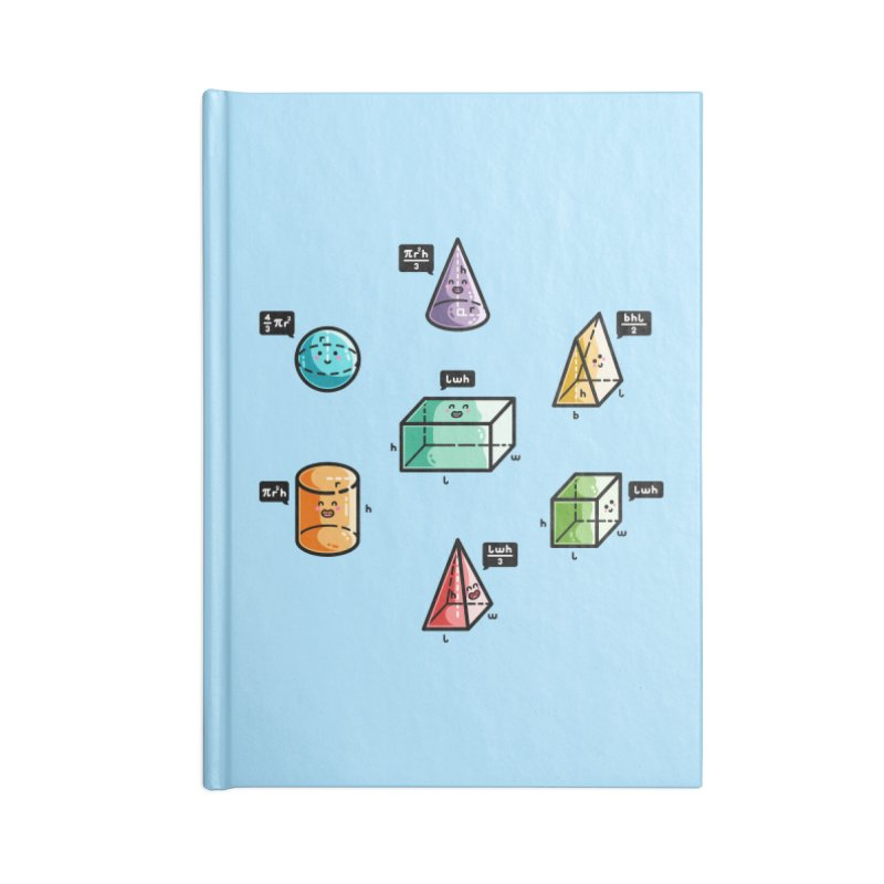 Speaking Volumes Maths Pun Masks + Accessories Notebook by Flaming Imp's Artist Shop