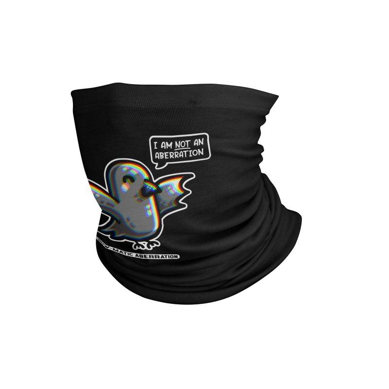 Chromatic Aberration Cute Pun Masks + Accessories Neck Gaiter by Flaming Imp's Artist Shop