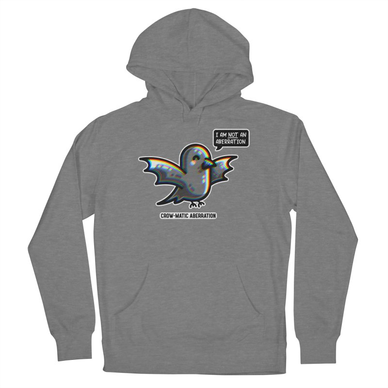 Chromatic Aberration Cute Pun Fitted Pullover Hoody by Flaming Imp's Artist Shop