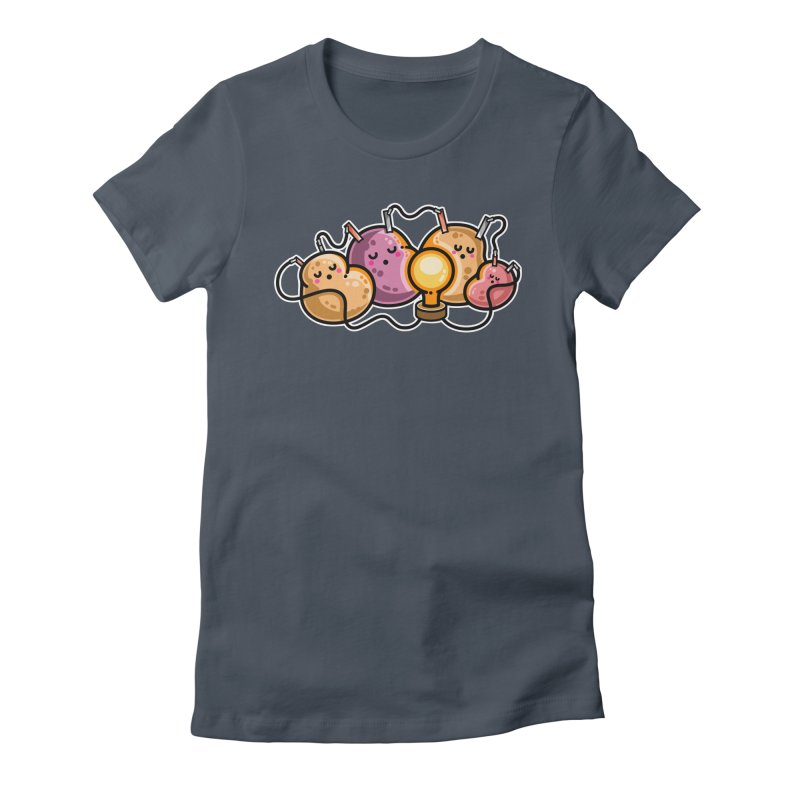 Power Nap Fitted T-Shirt by Flaming Imp's Artist Shop