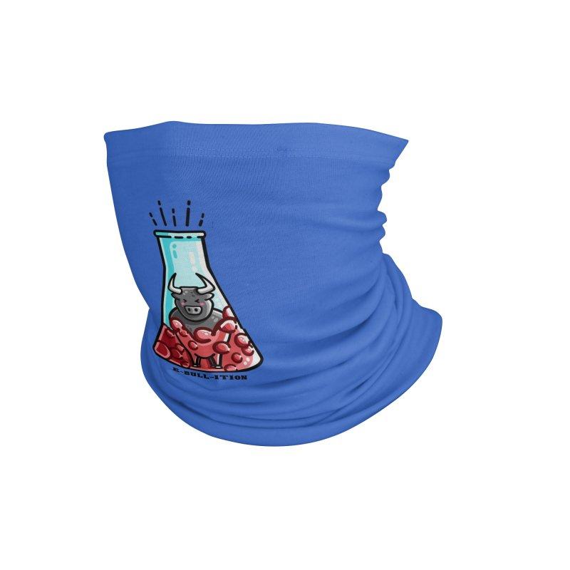 Ebullition Chemistry Pun Masks + Accessories Neck Gaiter by Flaming Imp's Artist Shop