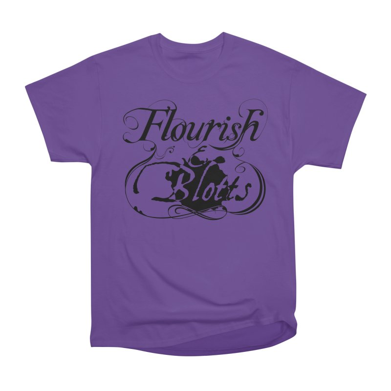 Flourish & Blotts Men's Classic T-Shirt by Flaming Imp's Artist Shop
