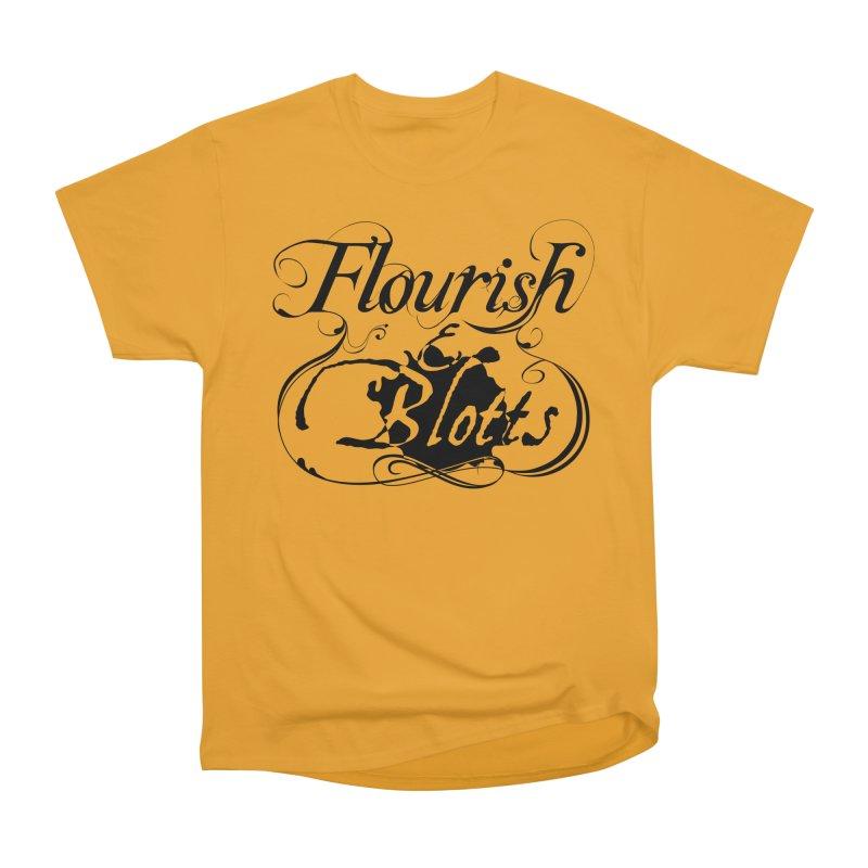 Flourish & Blotts Men's Classic T-Shirt by Flaming Imp's Artist Shop