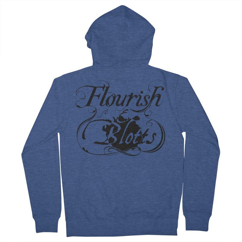 Flourish & Blotts Women's Zip-Up Hoody by Flaming Imp's Artist Shop