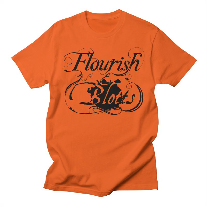Flourish & Blotts Women's Unisex T-Shirt by Flaming Imp's Artist Shop