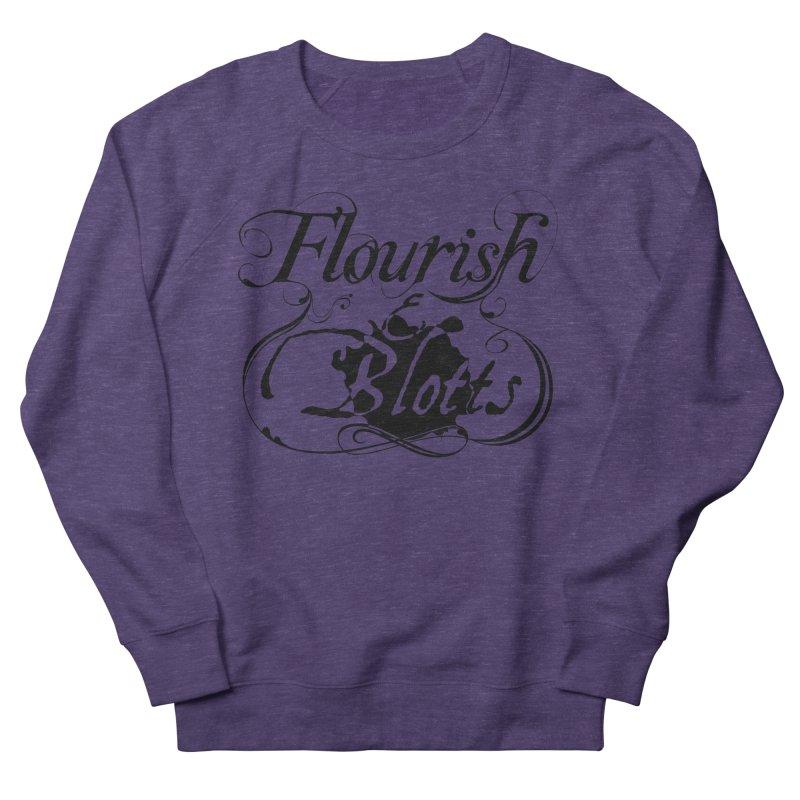 Flourish & Blotts Men's Sweatshirt by Flaming Imp's Artist Shop