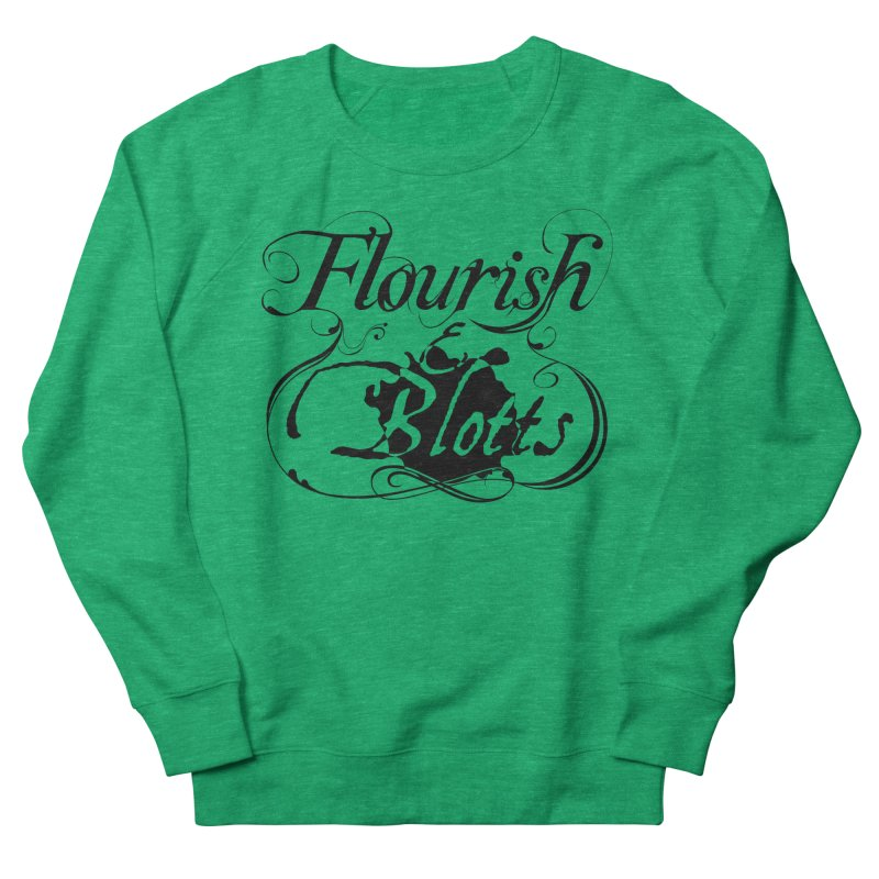 Flourish & Blotts Men's Sweatshirt by Flaming Imp's Artist Shop