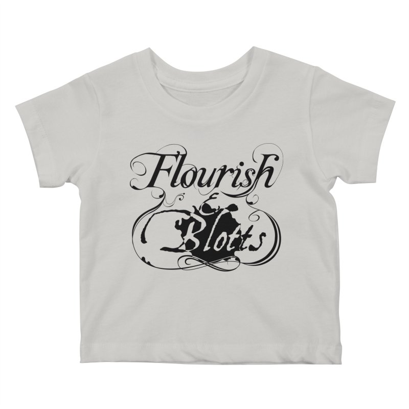 Flourish & Blotts Kids Baby T-Shirt by Flaming Imp's Artist Shop