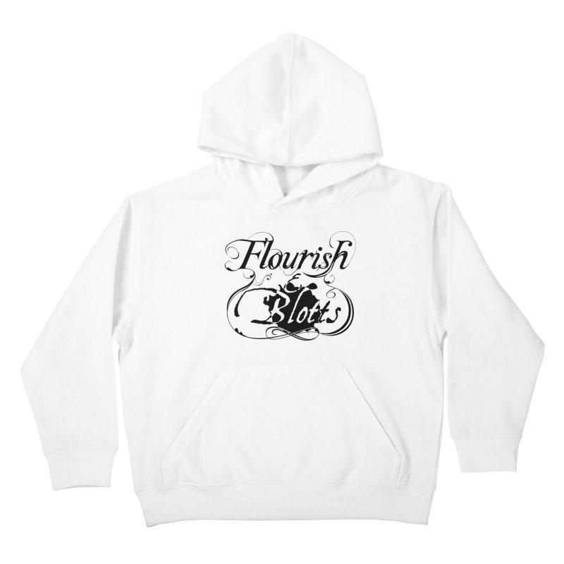 Flourish & Blotts Kids Pullover Hoody by Flaming Imp's Artist Shop