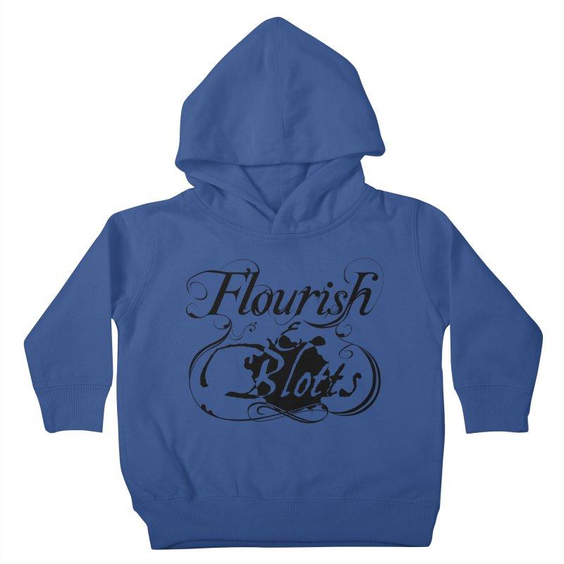 Flourish & Blotts Kids Toddler Pullover Hoody by Flaming Imp's Artist Shop