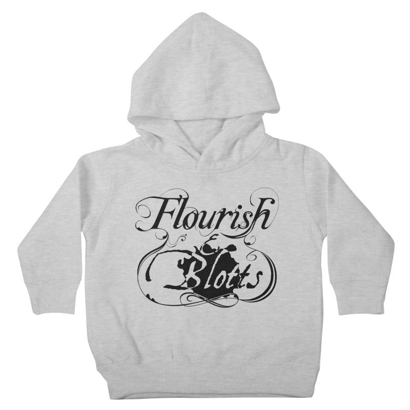 Flourish & Blotts Kids Toddler Pullover Hoody by Flaming Imp's Artist Shop