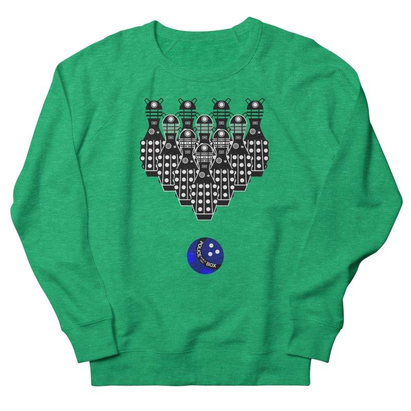 Dalek bowling Women's Sweatshirt by Flaming Imp's Artist Shop