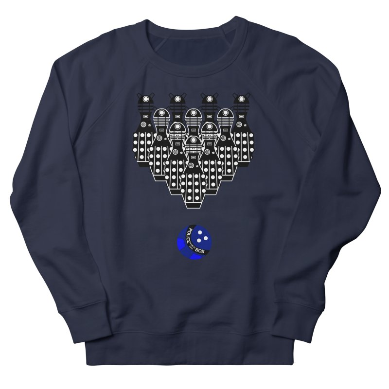 Dalek bowling Men's Sweatshirt by Flaming Imp's Artist Shop