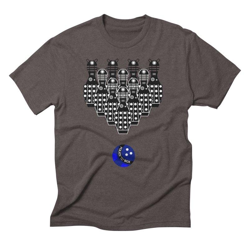 Dalek bowling Men's Triblend T-shirt by Flaming Imp's Artist Shop