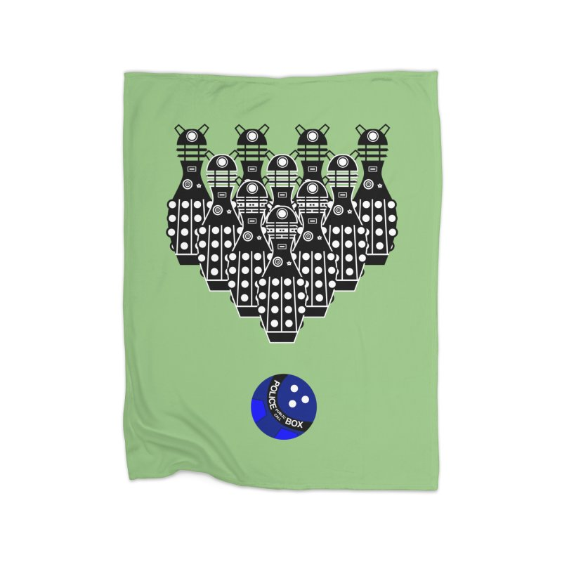 Dalek bowling Home Blanket by Flaming Imp's Artist Shop