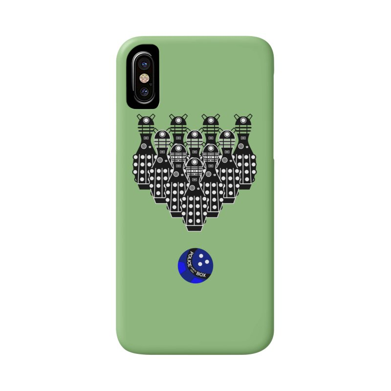 Dalek bowling Accessories Phone Case by Flaming Imp's Artist Shop