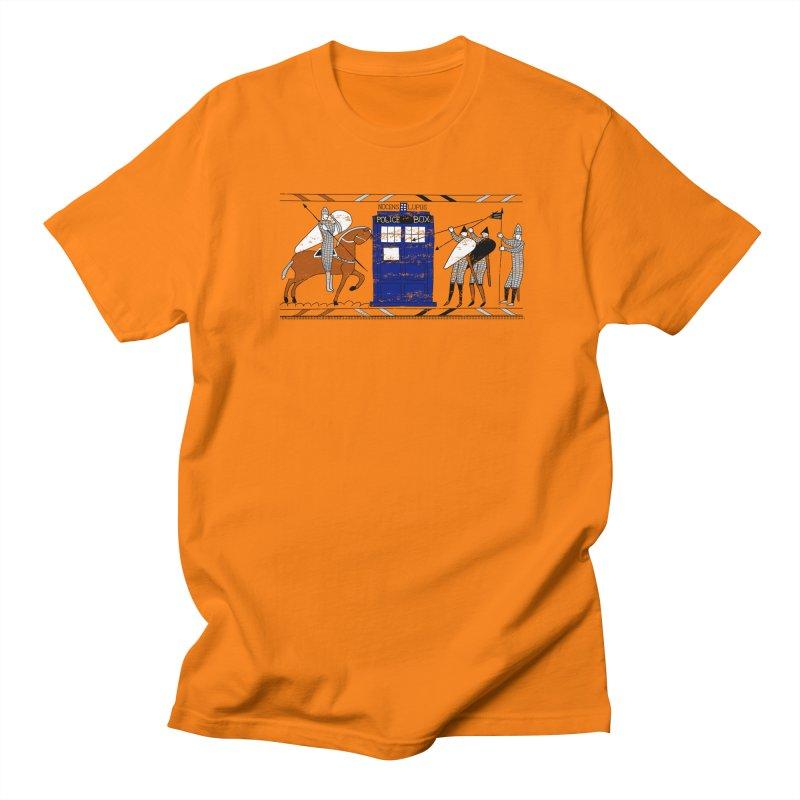 Nocens Lupus Men's T-shirt by Flaming Imp's Artist Shop