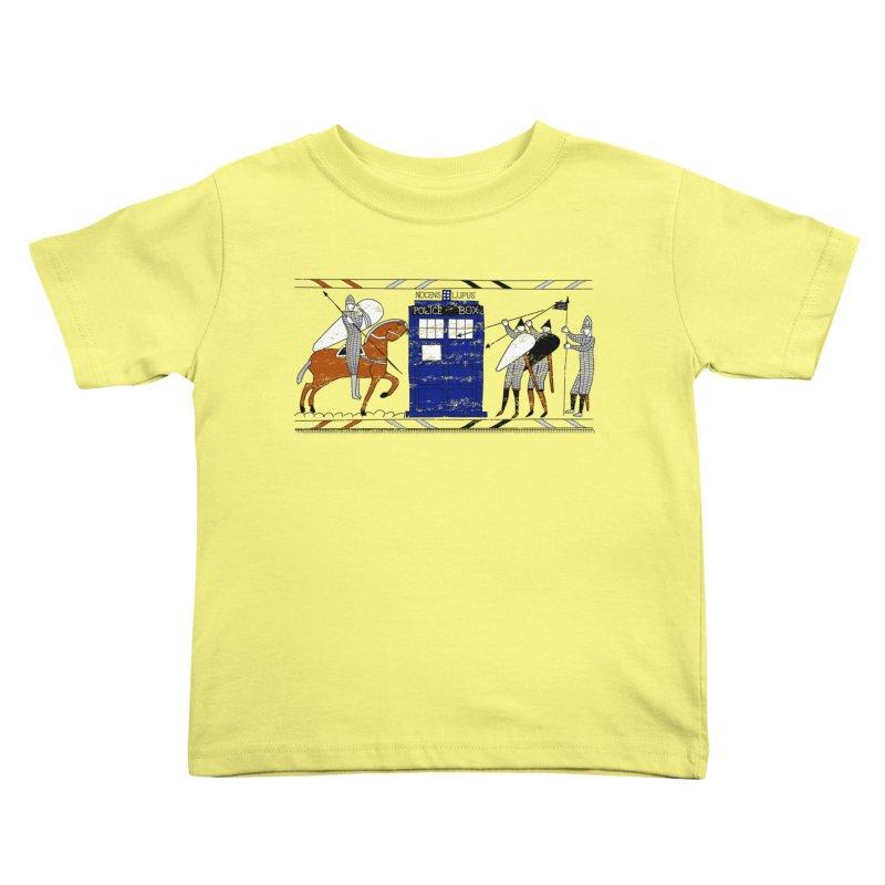 Nocens Lupus Kids Toddler T-Shirt by Flaming Imp's Artist Shop