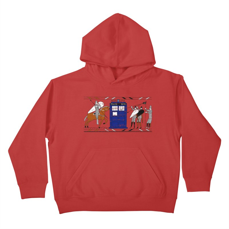 Nocens Lupus Kids Pullover Hoody by Flaming Imp's Artist Shop