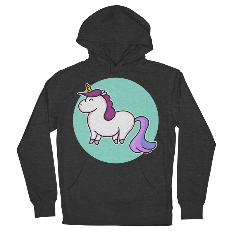 Cute Unicorn Women's Pullover Hoody by Flaming Imp's Artist Shop