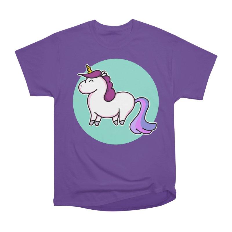Cute Unicorn Women's Classic Unisex T-Shirt by Flaming Imp's Artist Shop