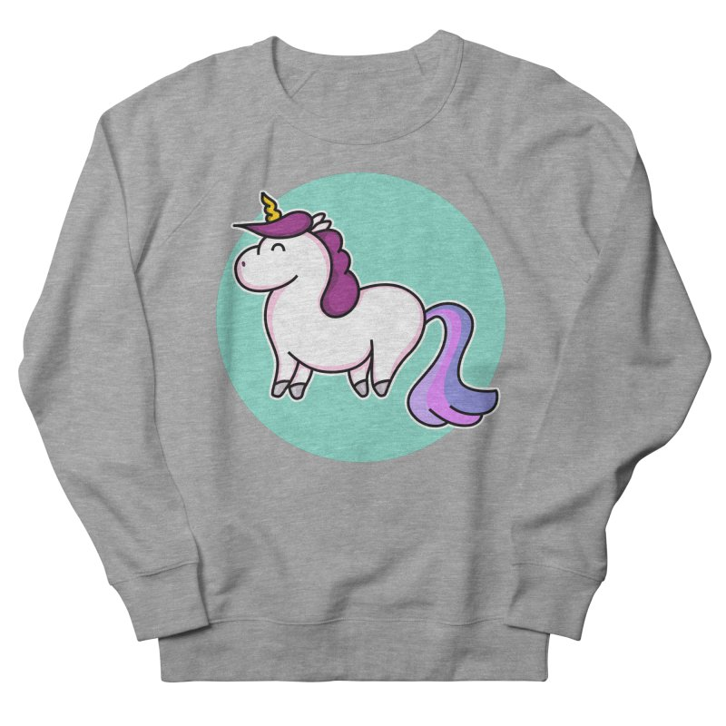 Cute Unicorn Women's Sweatshirt by Flaming Imp's Artist Shop