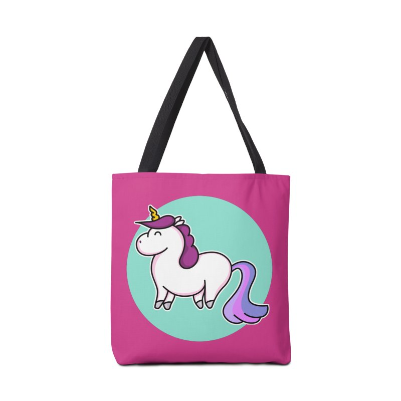 Cute Unicorn Accessories Bag by Flaming Imp's Artist Shop