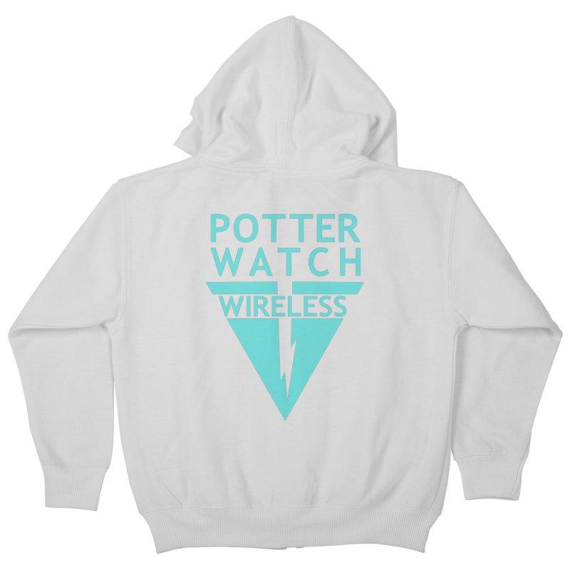 Potterwatch Kids Zip-Up Hoody by Flaming Imp's Artist Shop
