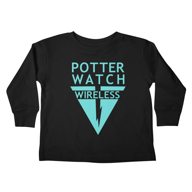 Potterwatch Kids Toddler Longsleeve T-Shirt by Flaming Imp's Artist Shop