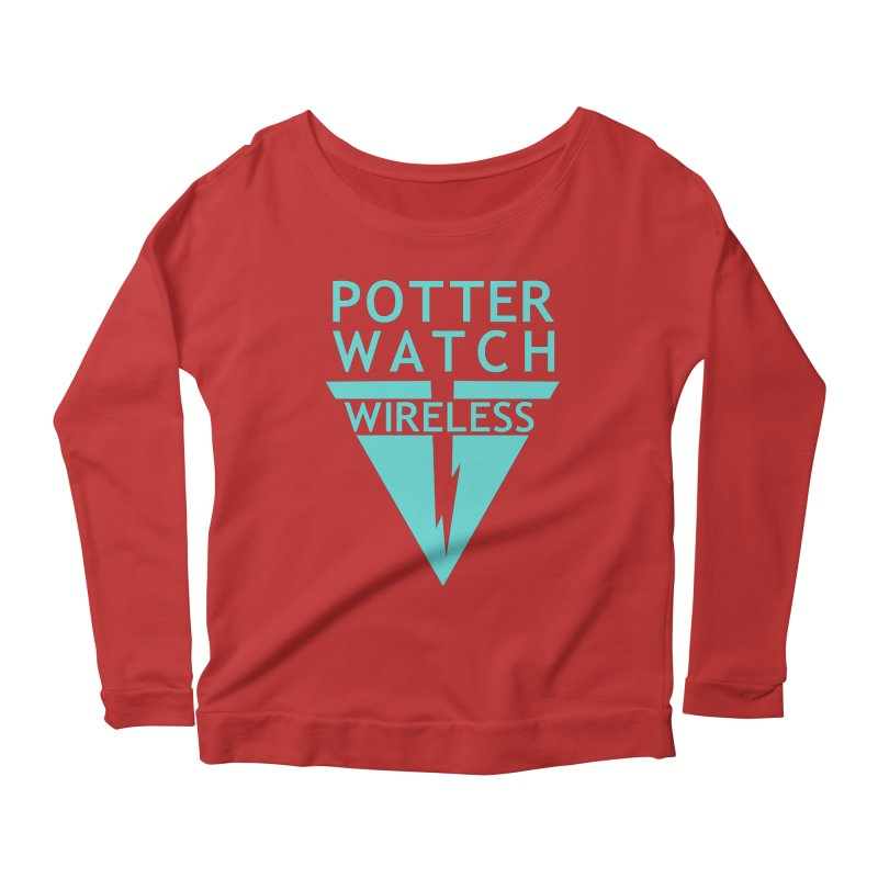 Potterwatch Women's Longsleeve Scoopneck  by Flaming Imp's Artist Shop
