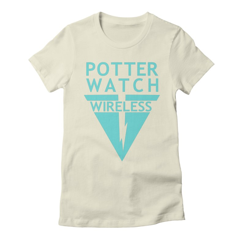 Potterwatch Women's Fitted T-Shirt by Flaming Imp's Artist Shop