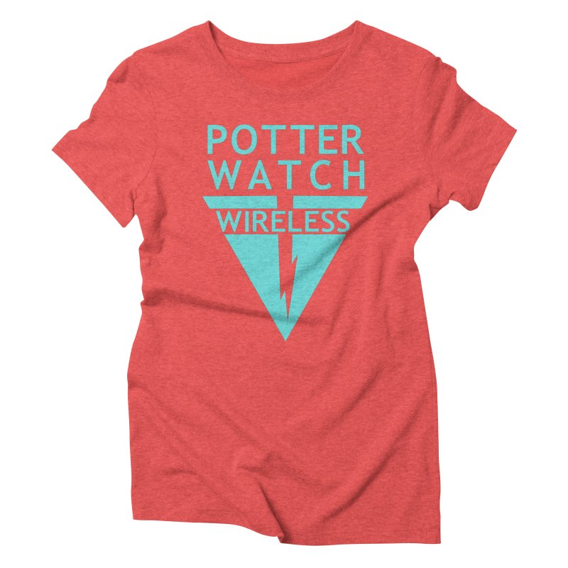 Potterwatch Women's Triblend T-Shirt by Flaming Imp's Artist Shop