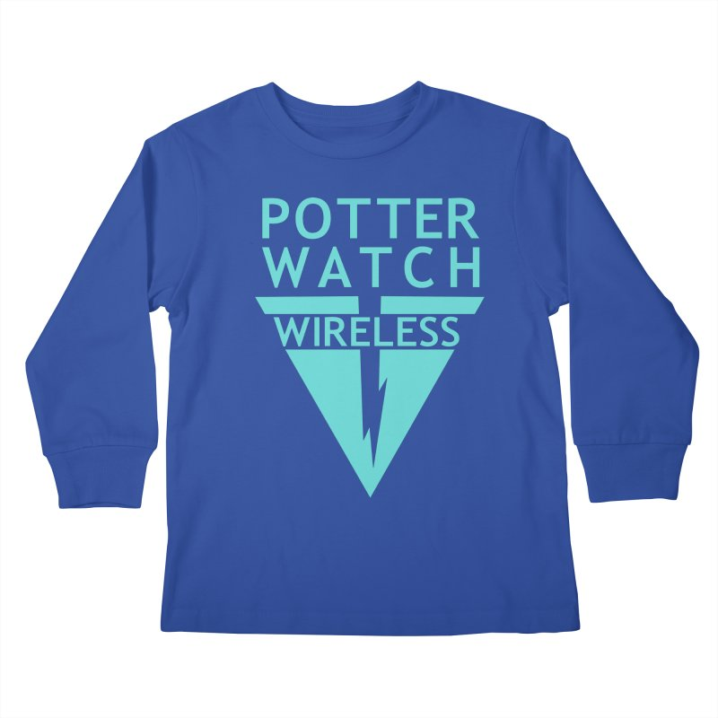 Potterwatch Kids Longsleeve T-Shirt by Flaming Imp's Artist Shop