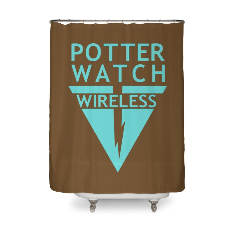 Potterwatch Home Shower Curtain by Flaming Imp's Artist Shop