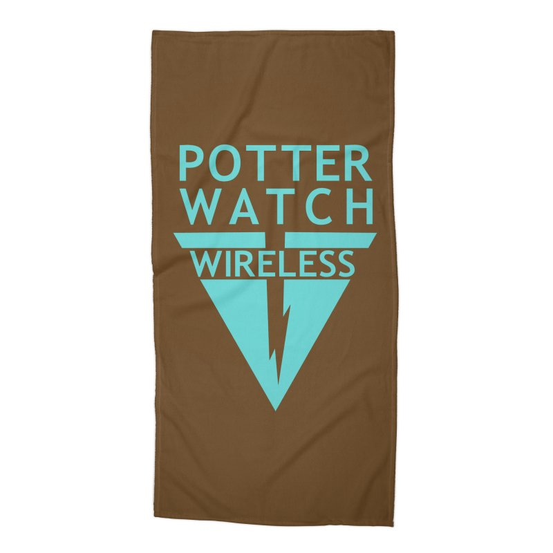 Potterwatch Accessories Beach Towel by Flaming Imp's Artist Shop