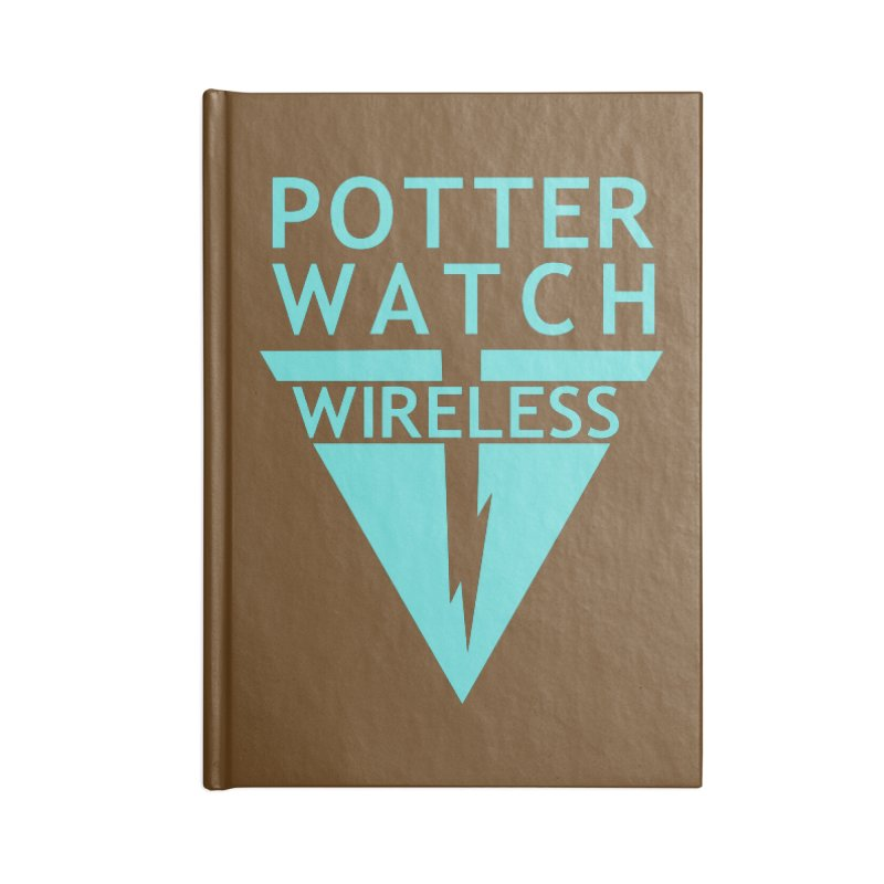 Potterwatch Accessories Notebook by Flaming Imp's Artist Shop