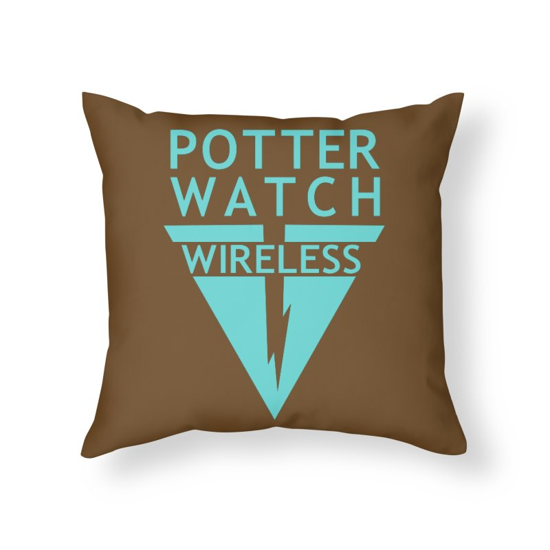 Potterwatch Home Throw Pillow by Flaming Imp's Artist Shop