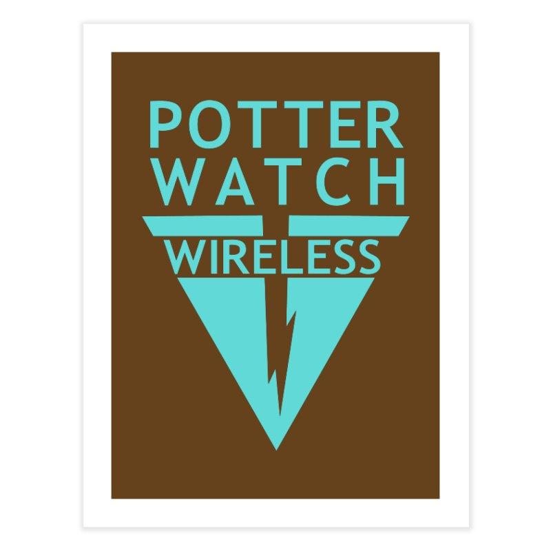 Potterwatch Home Fine Art Print by Flaming Imp's Artist Shop
