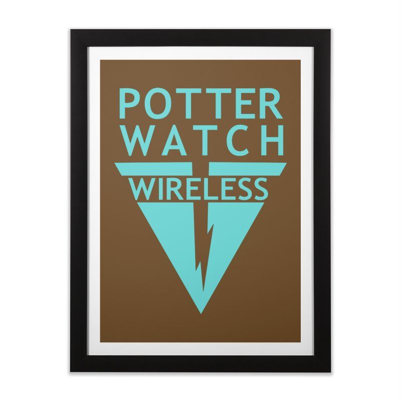 Potterwatch Home Framed Fine Art Print by Flaming Imp's Artist Shop
