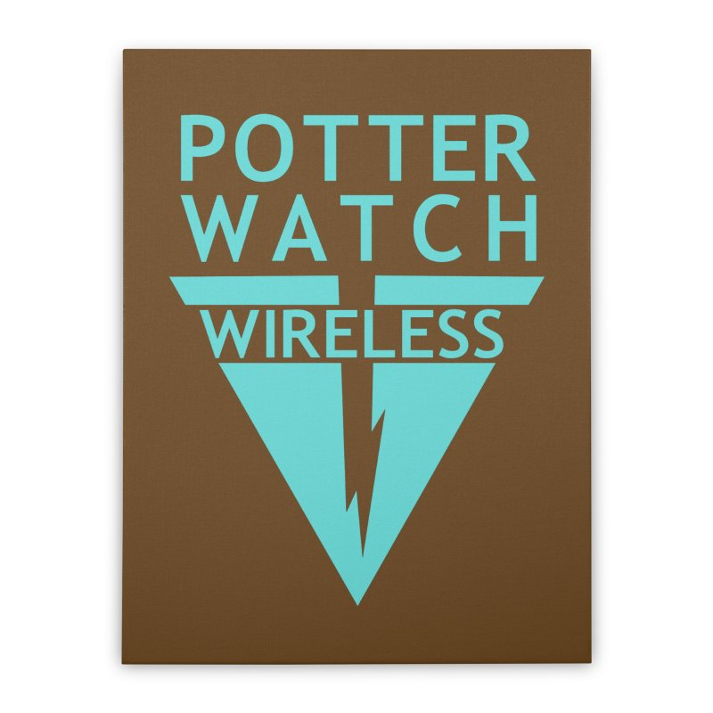 Potterwatch Home Stretched Canvas by Flaming Imp's Artist Shop