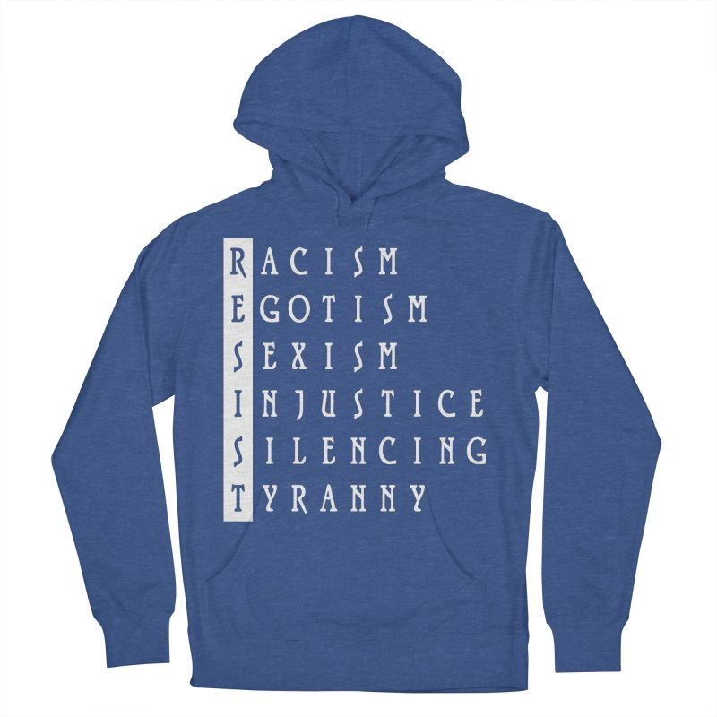 Resist Women's Pullover Hoody by Flaming Imp's Artist Shop