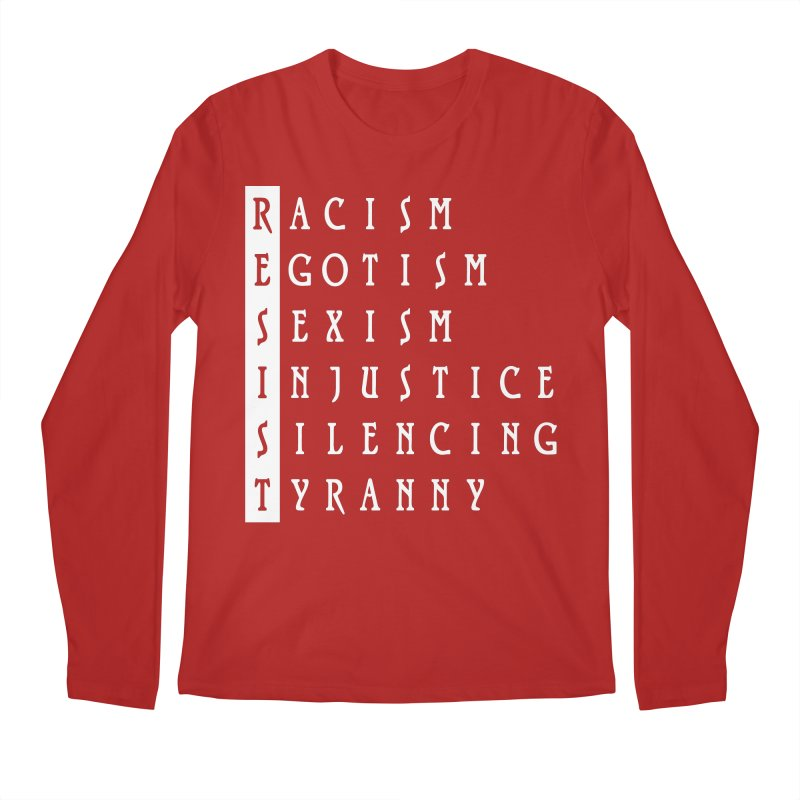 Resist Men's Longsleeve T-Shirt by Flaming Imp's Artist Shop