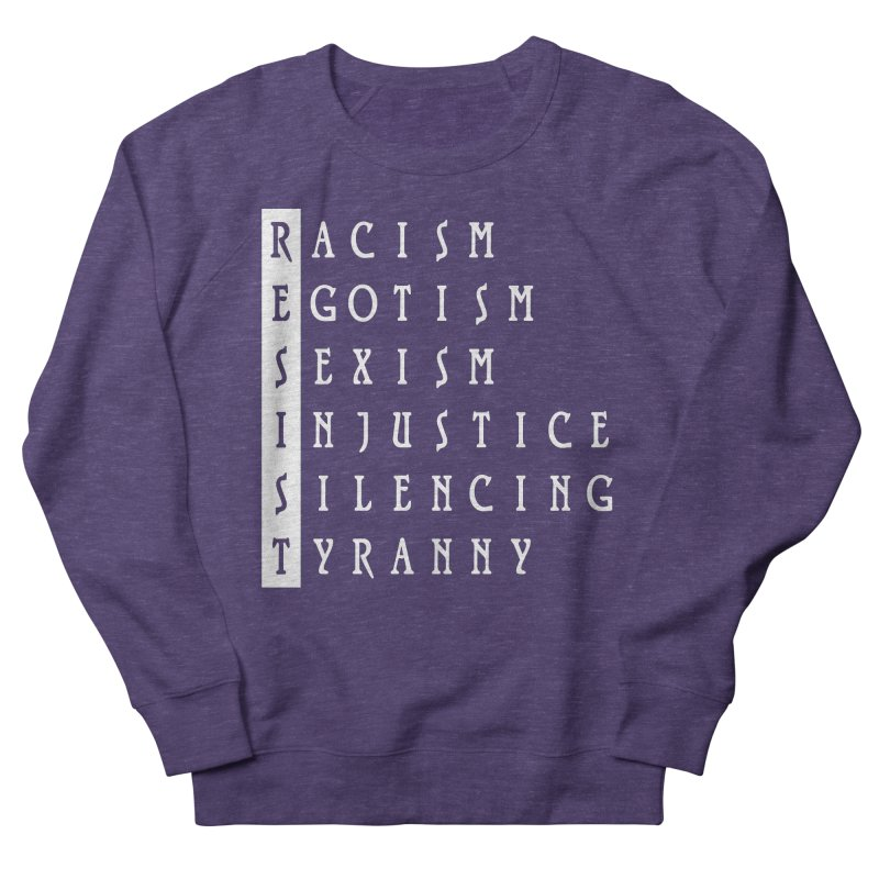 Resist Women's Sweatshirt by Flaming Imp's Artist Shop