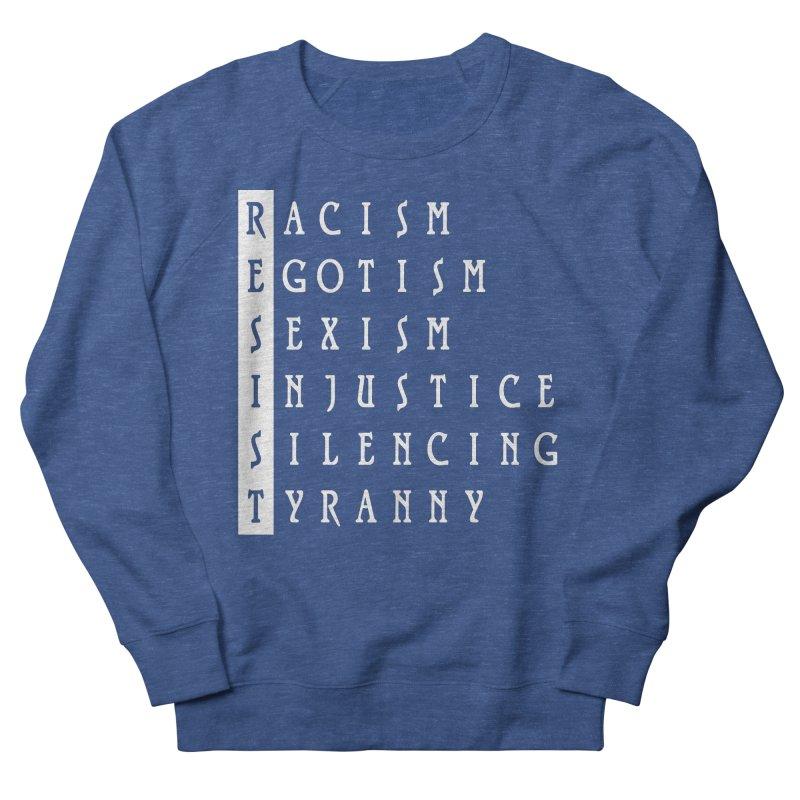 Resist Men's Sweatshirt by Flaming Imp's Artist Shop
