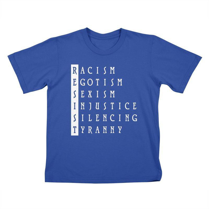 Resist Kids T-Shirt by Flaming Imp's Artist Shop
