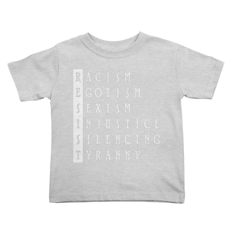 Resist Kids Toddler T-Shirt by Flaming Imp's Artist Shop