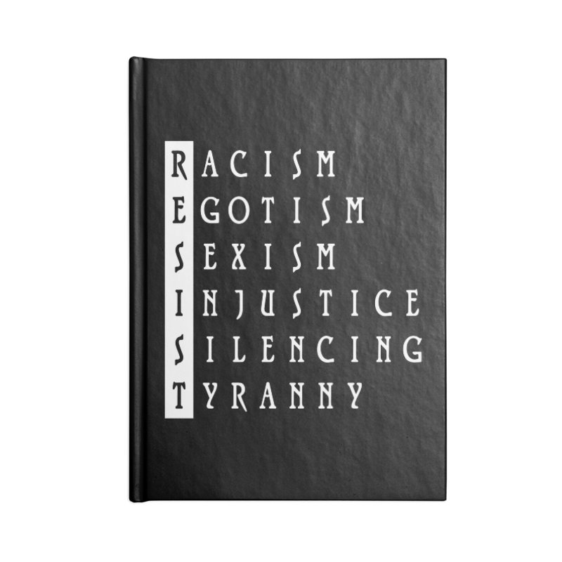 Resist Accessories Notebook by Flaming Imp's Artist Shop